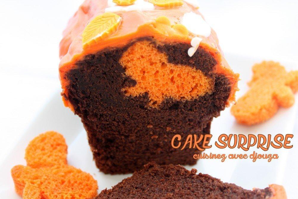 Cake surprise papillon