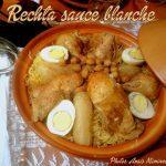Rechta algéroise (sauce blanche)