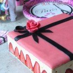 Fraisier, gâteau aux fraises pour anniversaire