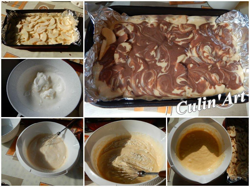 Fordított almás krémes – családi receptünk