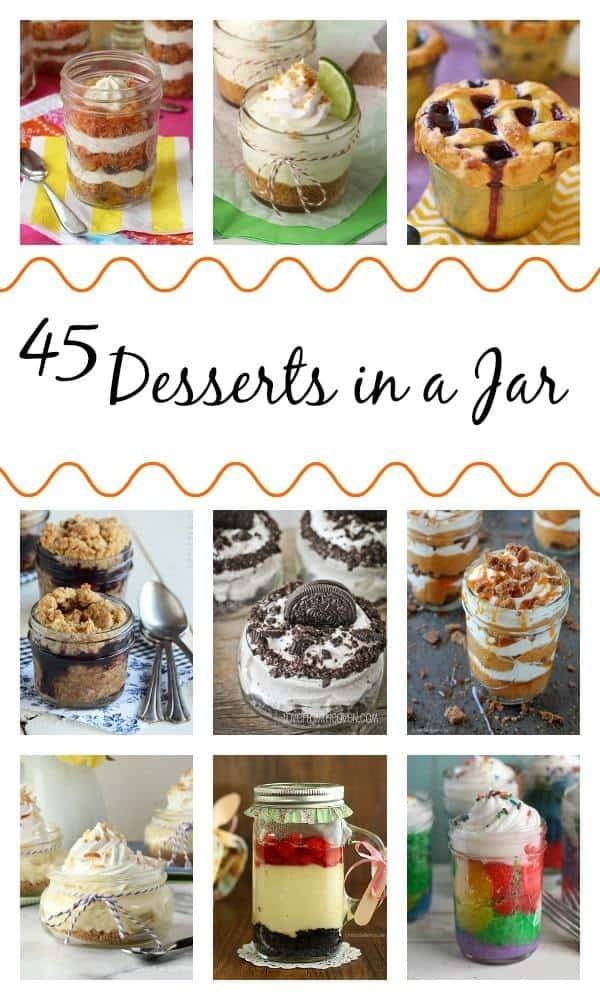 45 Desserts in a Jar