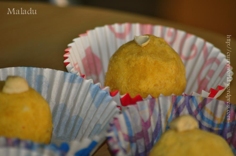 Maladu-Pottukadalai Ladoo..A fast Delicious Sweet