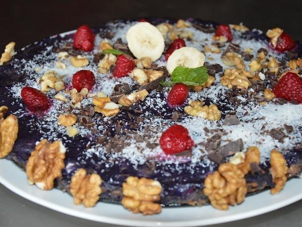 Ovocná raw torta alebo maškrtíme zdravo