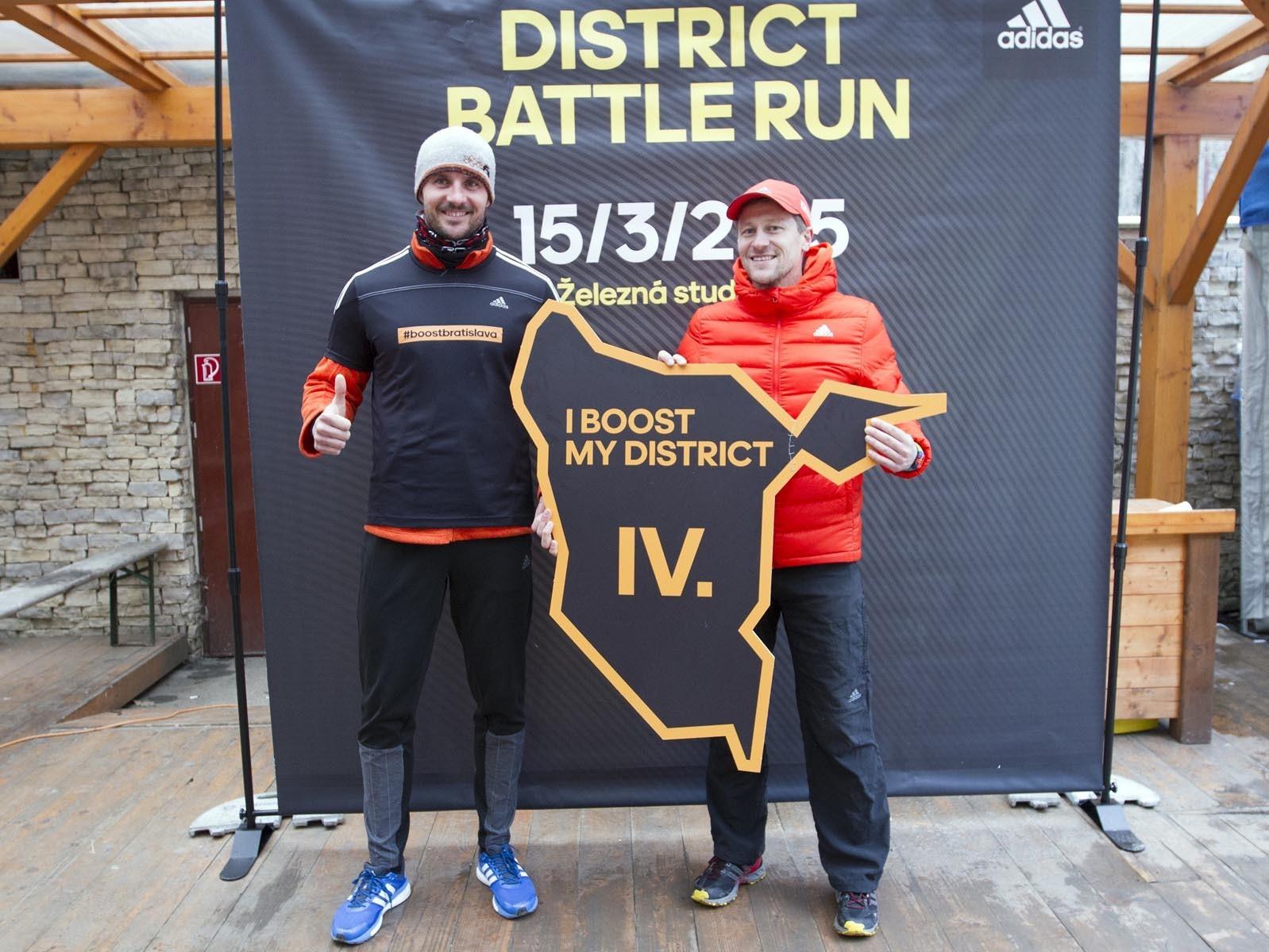 Nový bežecký okruh pre víťazov adidas District Battle Run otvorený