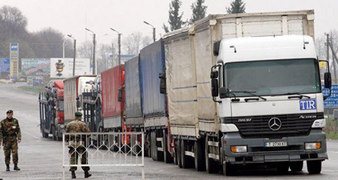 В Российской Федерации остановлено движение практически 200 украинских фургонов — Минтранс РФ