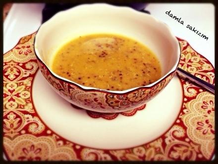 Kinoalı (Quinoalı) Kırmızı Mercimek Çorbası – Tam besin, tam lezzet