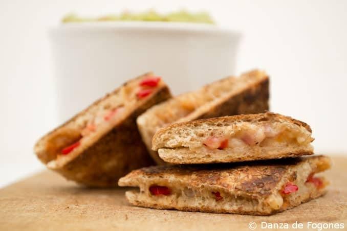 Quesadillas de Sandwich
