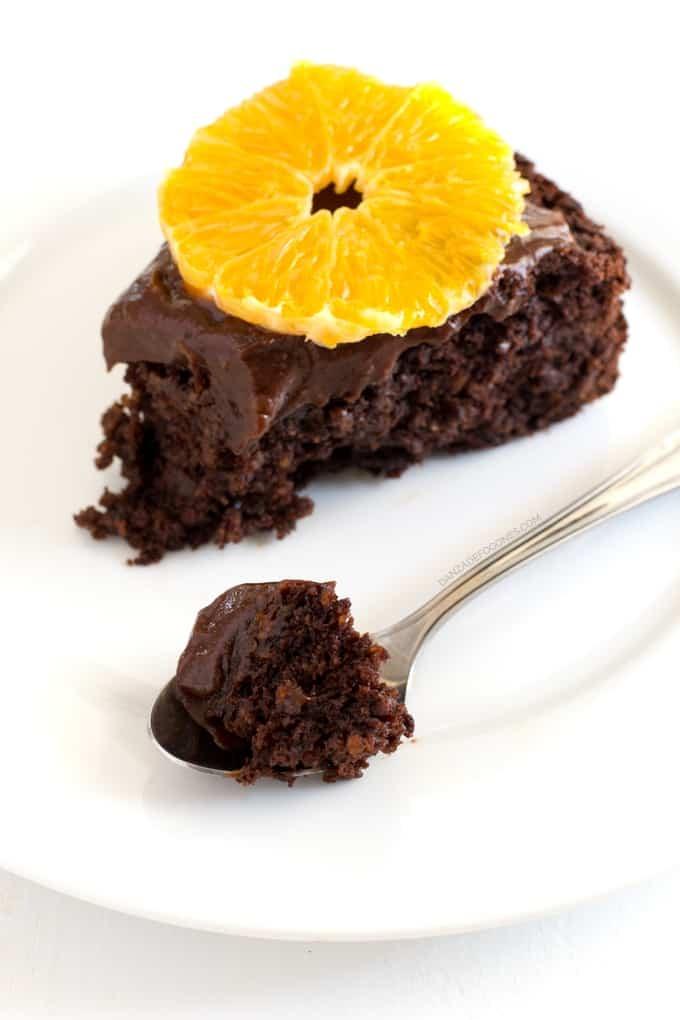 Tarta vegana de chocolate y naranja + 1 año con Danza de Fogones