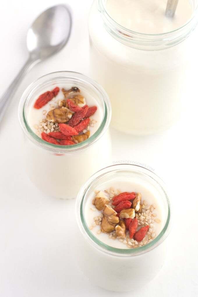 Yogur de soja