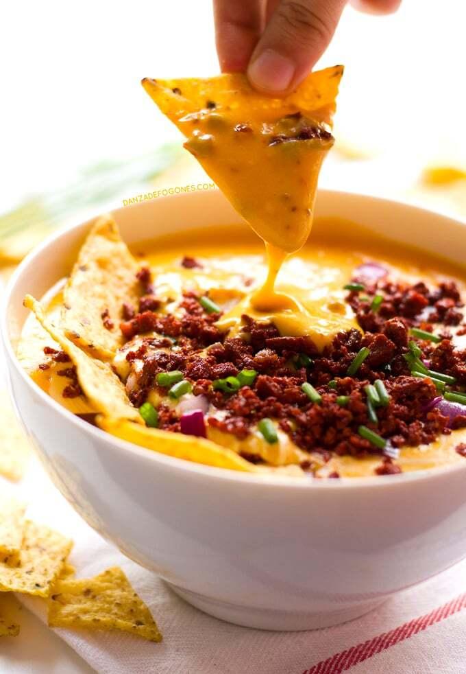 Dip de Queso y Chorizo (Vegano)