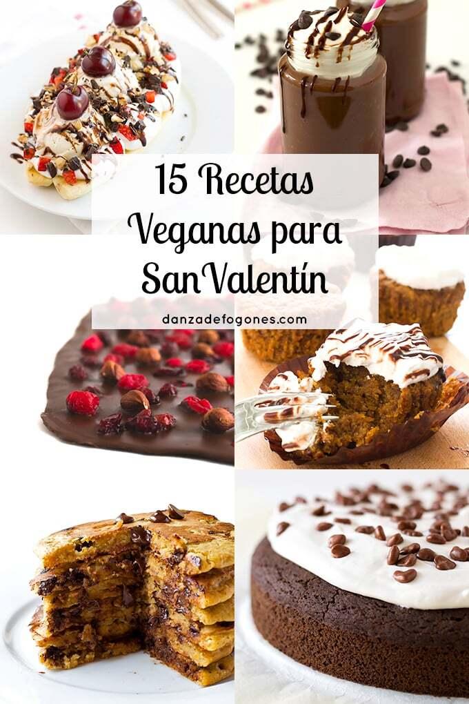 15 Recetas Veganas para San Valentín