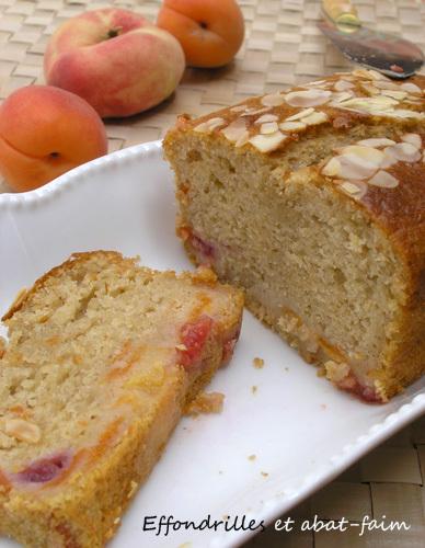 Cake aux fruits d'été