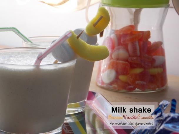un milkshake bien frais et bon
