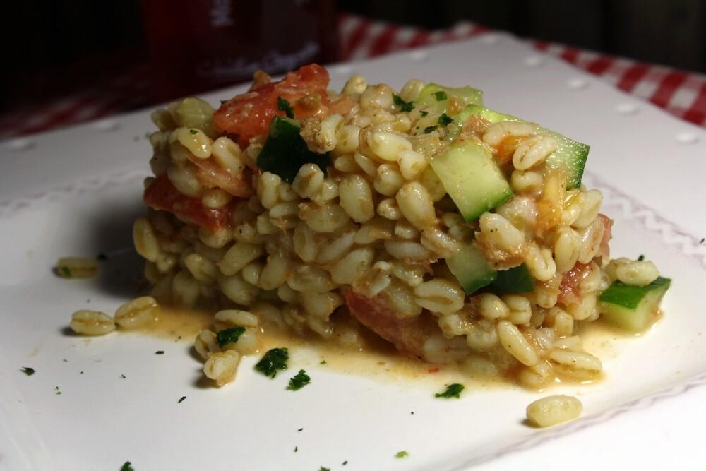 Salade de crabe dormeur à l'huile de homard