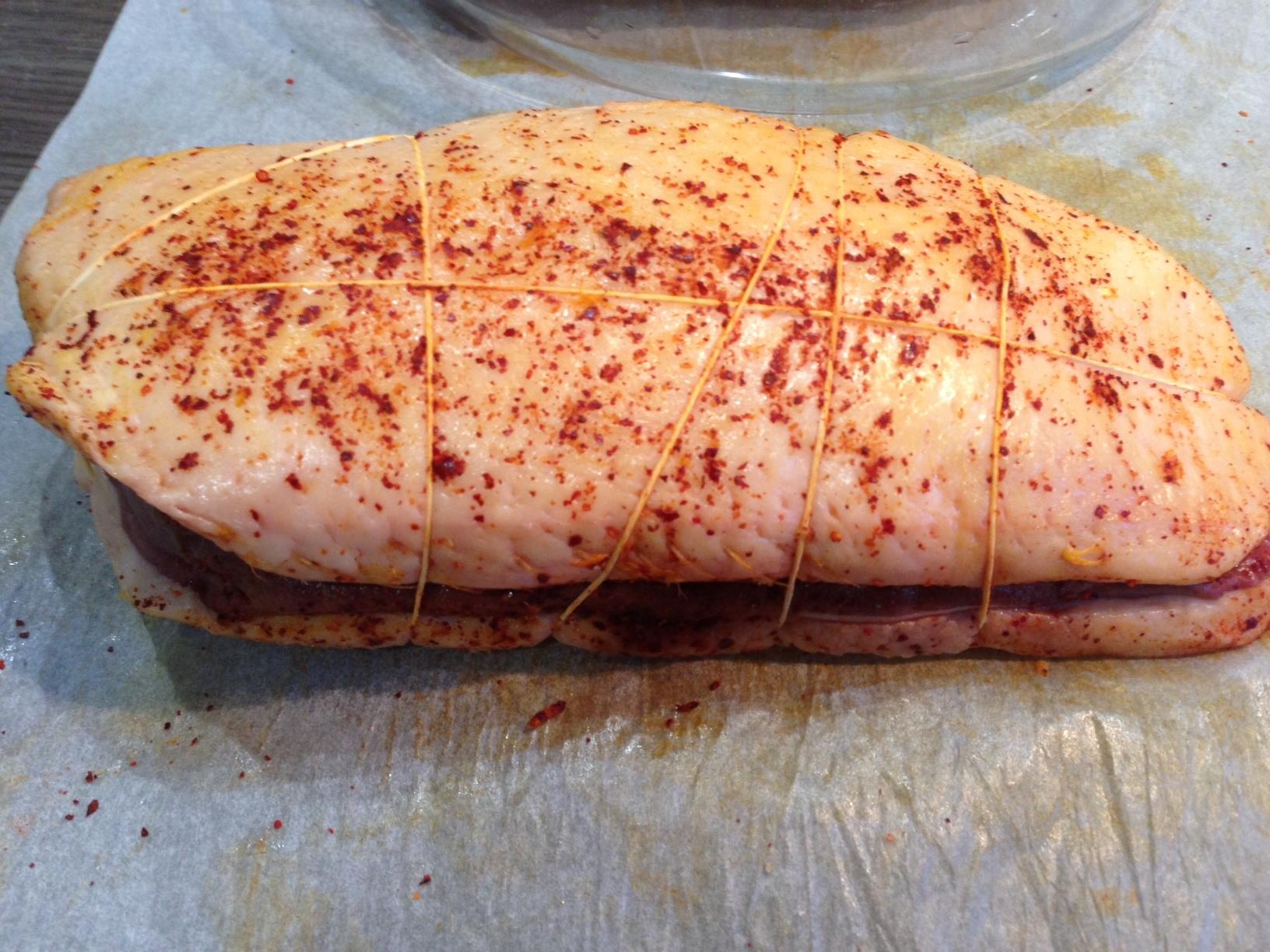 Magrets de canard roti au piment d'espelette