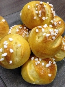 Petits pains au lait moelleux