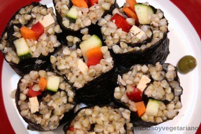 Sushi de Trigo Sarraceno