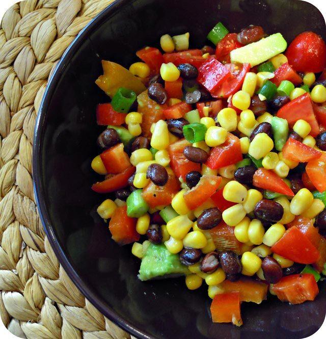 Meksička salata od graha