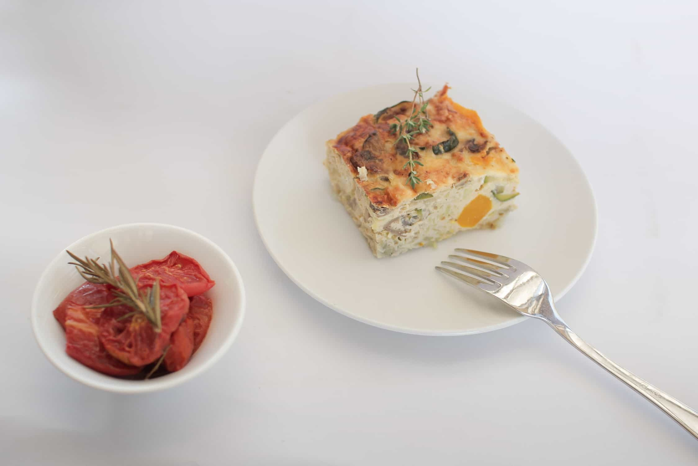 Roast pumpkin, feta and kumara frittata recipe