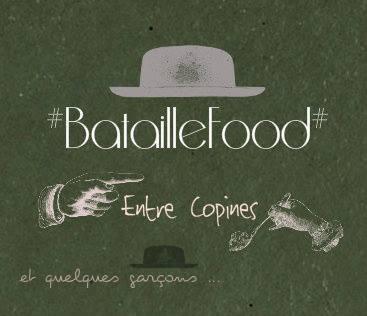 Bataille Food, oie rôtie au miel, farce au Calvados pomme carotte, pommes cuites au four garnies aux groseilles