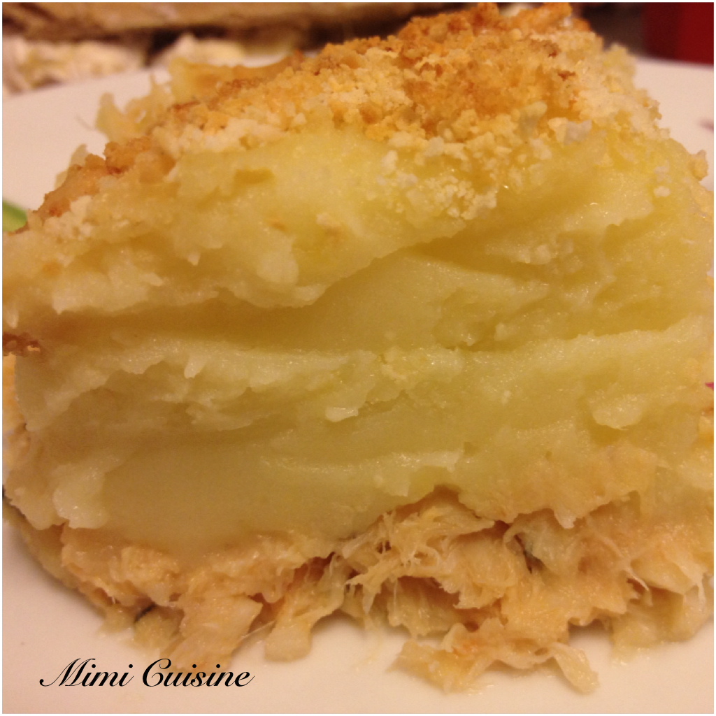 Parmentier de poisson by Thermomix
