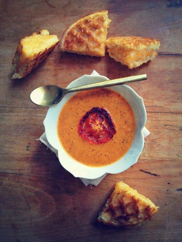 Una de mis favoritas: Sopa de Tomate. Mmm!
