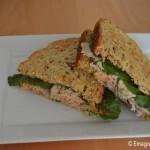 Receita: Sanduíche natural de ricota temperada