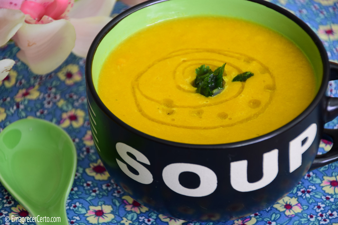 Sopa de Laranja – Sem glúten