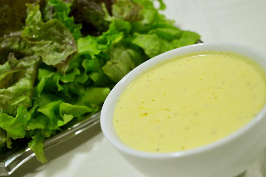 Molho diferente para saladas