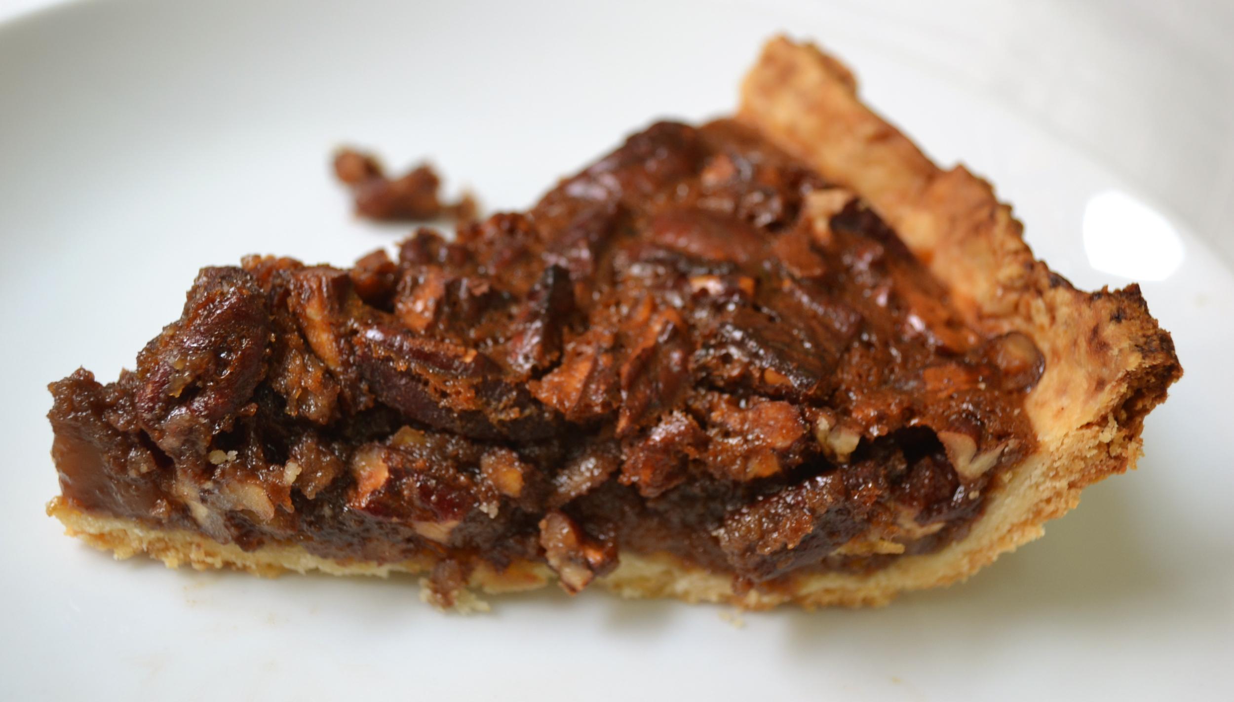 Torta de caramelo e noz pecã (Caramel Pencan Pie)