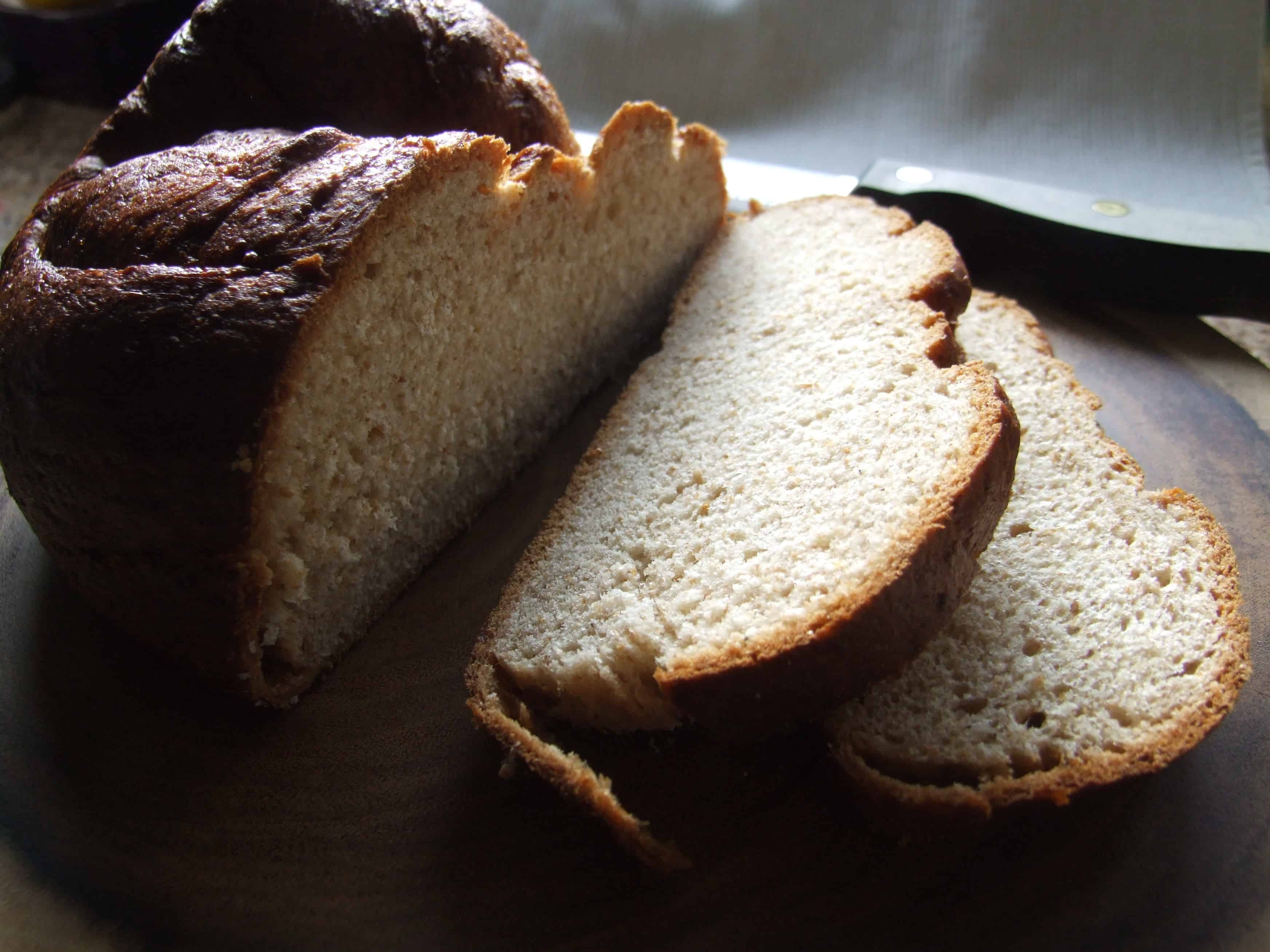 wholemeal challah