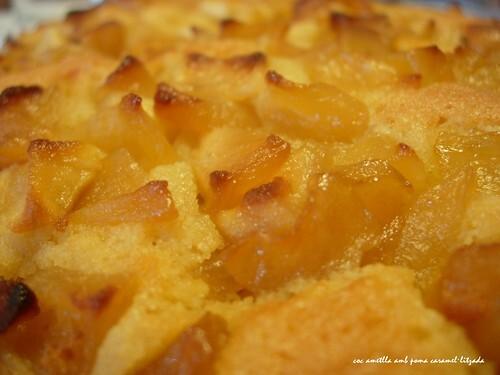 Coc d'ametlla amb poma caramel·litzada (23)