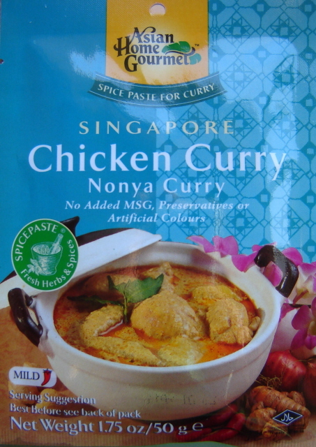 Winter Vegetable Nonya Curry Recipe