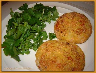 The Kitchen Blackboard & Hot-Smoked Salmon Cakes Recipe
