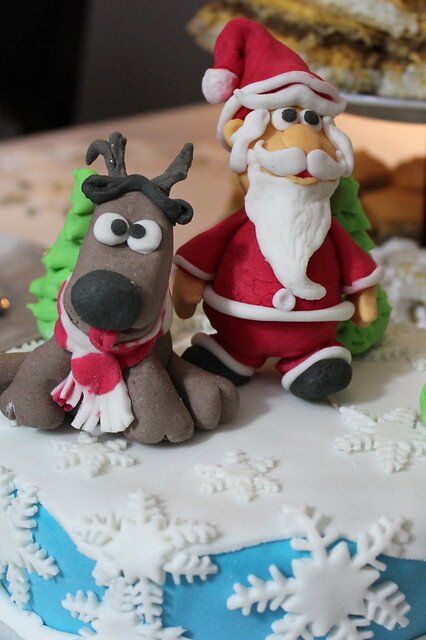 Naša novogodišnja torta