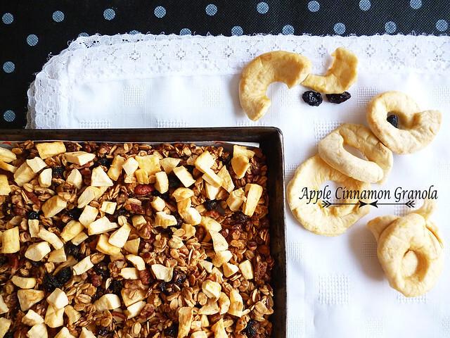 Apple Cinnamon Granola