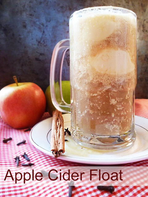 Apple Cider Float