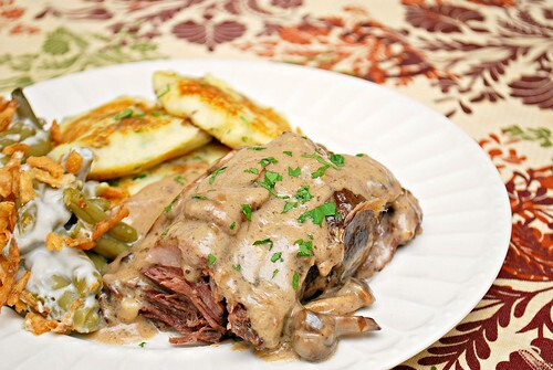 Creamy French Onion Pot Roast
