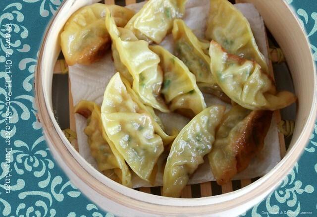 Prawn & Chilli Pot-Sticker Dumplings