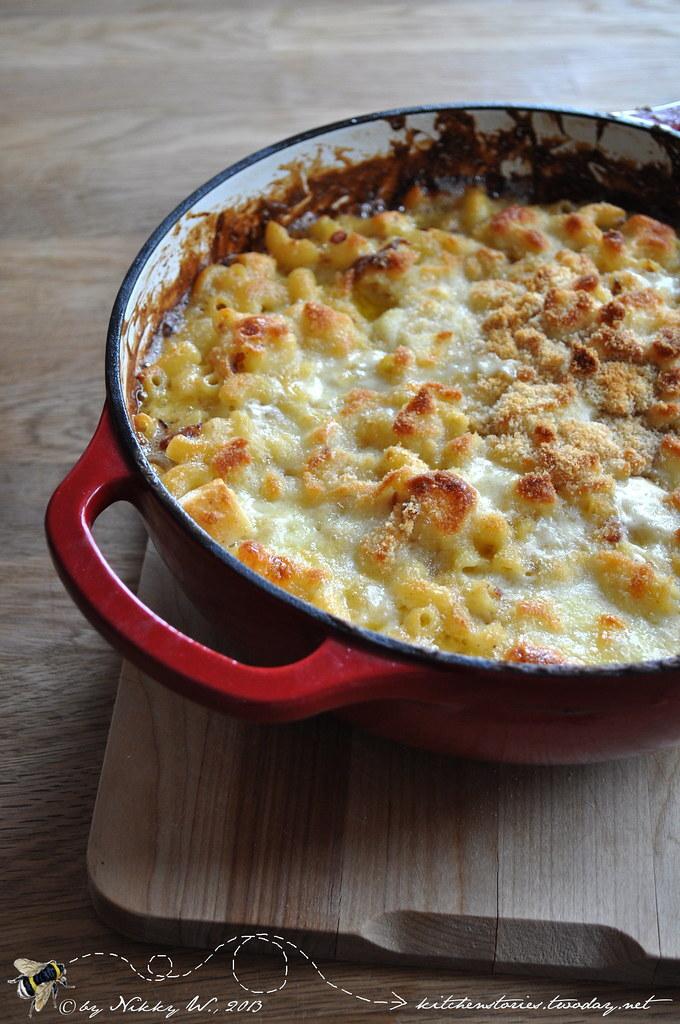 Wie eine Linsensuppe zu Mac and Cheese wird ... Gardeners Mac & Cheese