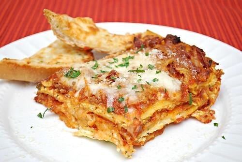 Sausage & Pepperoni Lasagna