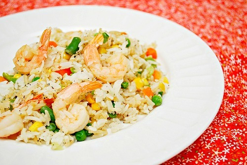 Lemongrass Shrimp Fried Rice