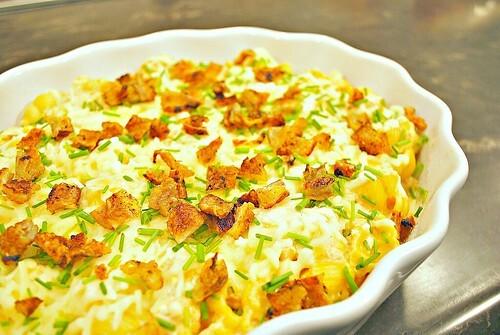 Buffalo Ranch Chicken Mac 'n Cheese