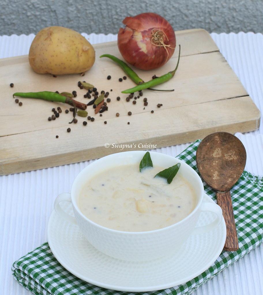 Kerala Style Potato Stew / Urulakizhangu Stew
