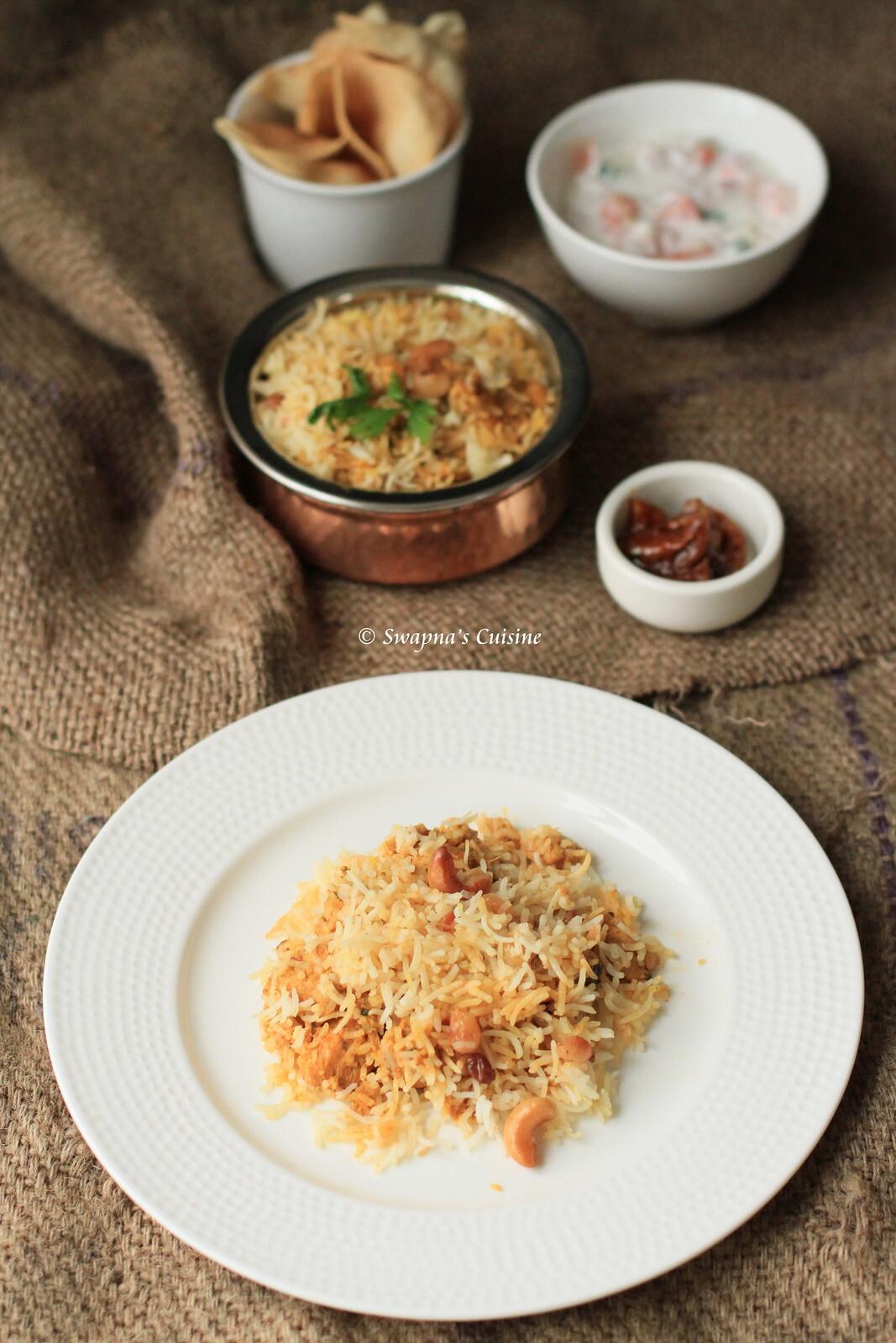Chicken Biriyani / Kozhi Biryani