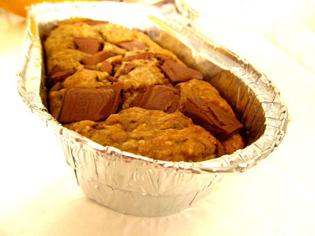 Bolinho de Banana com Pedacinhos de Chocolate