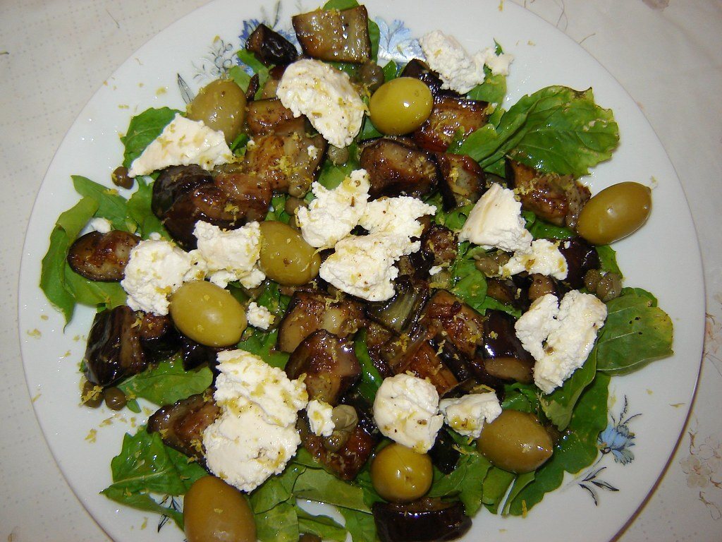 Blood Orange & Black Olive Salad Recipe