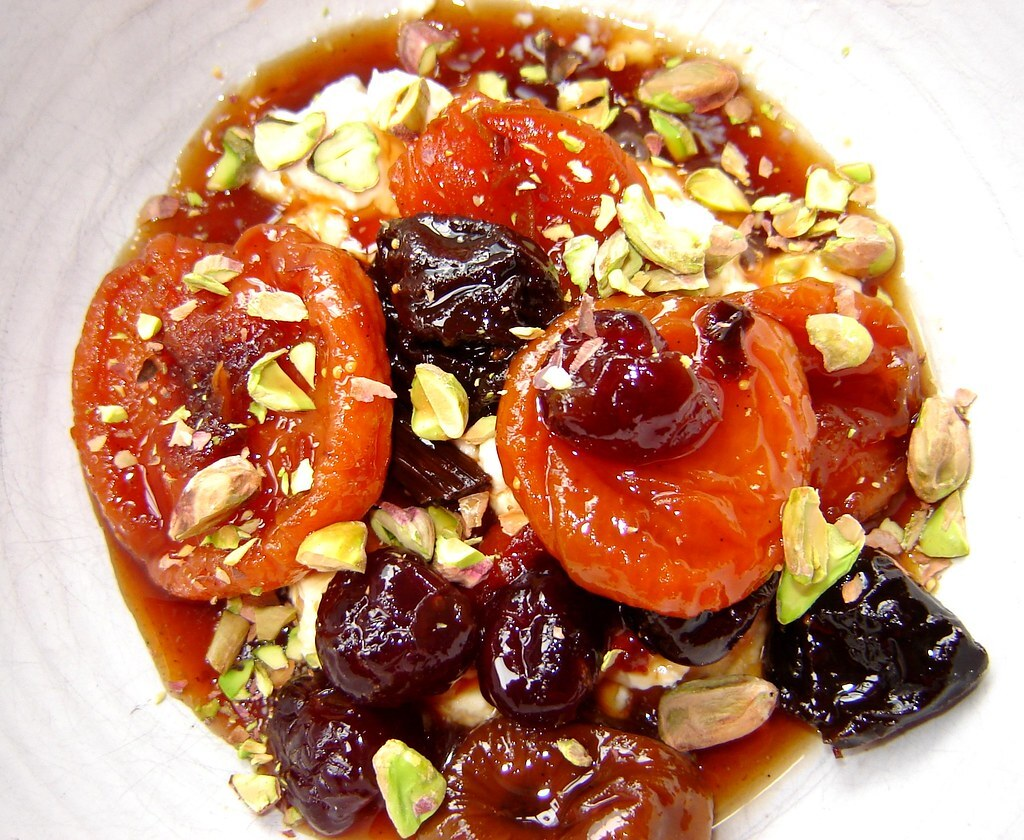Remembering Paros & Dried Fruit Compote