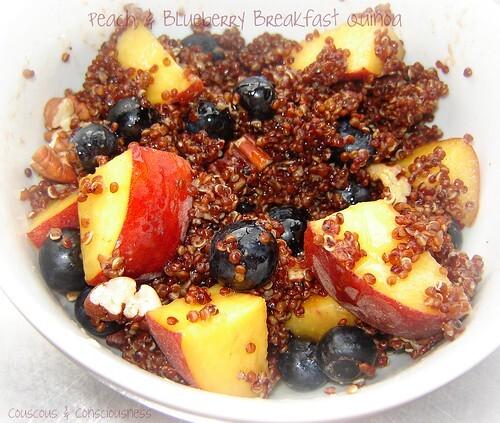 quinoa porridge microwave