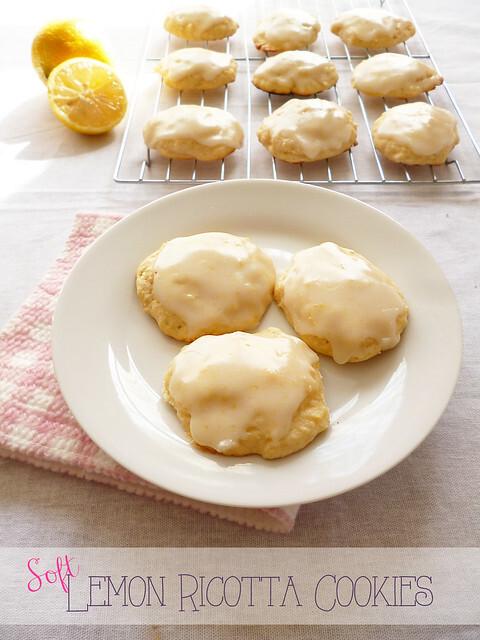 Soft Lemon Ricotta Cookies